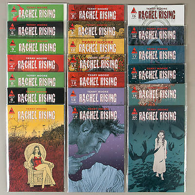 Rachel Rising #1-20, Lot of 20 Terry Moore comics, VF+ set