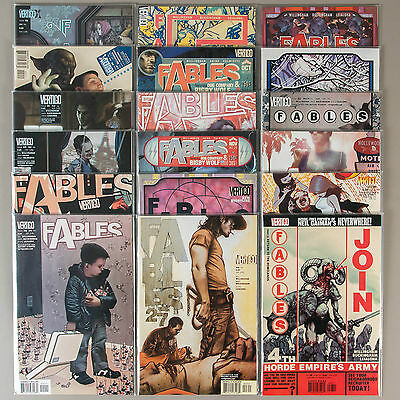 Fables #19-36, Full Run, Lot of 18 Vertigo comics, complete VF set