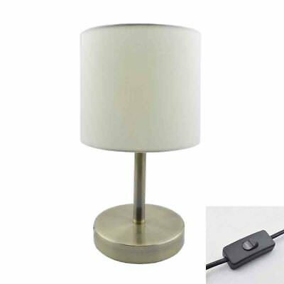 Desk Fabric lamp Bedside Simple Nightstand Bedroom Table lamp Living room