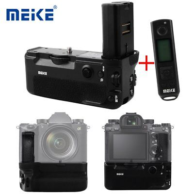 US Meike MK-A9 Pro Battery Grip Built-in 2.4GHz Remote for Sony A9 A7RIII Camera