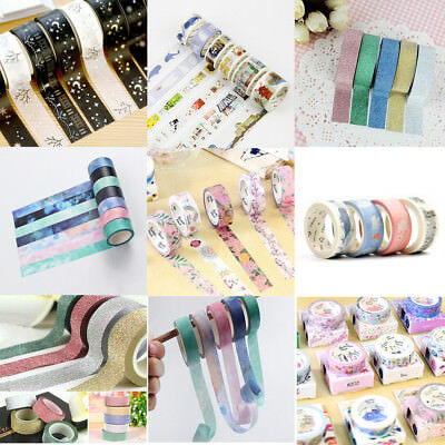 Wholesale Washi Masking Tape Scrapbook Decorative Paper Adhesive DIY Sticker
