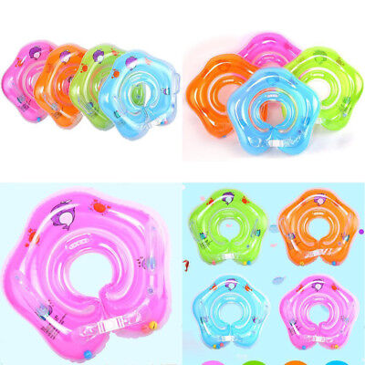 PVC 1-18month Baby Infant Swimming Neck Float Inflatable Tube Ring Safety Neck