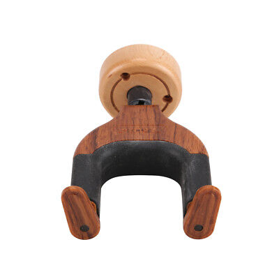 Wall Mount Guitar Hanger Holder Hook Keeper Hanging Brackets Wooden Wood
