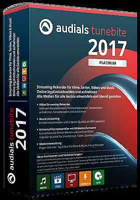 Audials Tunebite 2017 Platinum ESD / Download Version EAN 4023126118837