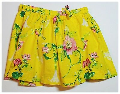 Baby Gap Yellow Floral Skirt & Diaper Cover Girls Size 2T NWOT
