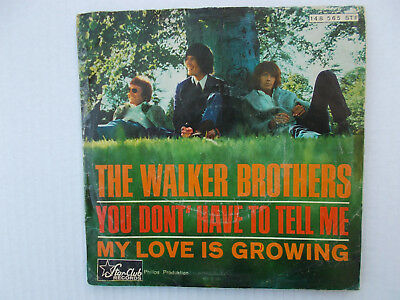 """The Walker Brothers - You Don't Have To Tell Me ( 7"""" Single,1966, Z= sehr gut- )"""