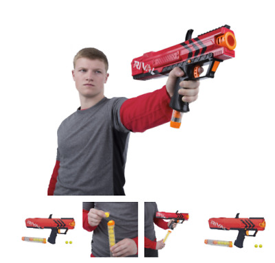 Blaster Toy Gun Nerf Rival Apollo XV700 Spring Action 7 High Impact Rounds New