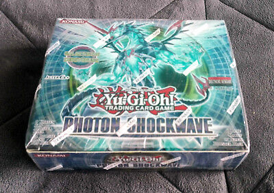 Yu-Gi-Oh! Photon Shockwave Display, 24 Booster *OVP - NEU* Deutsch 1. Auflage