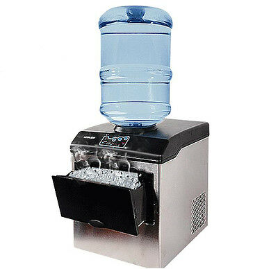 HZB25 Electric Automatic Countertop Bullet Ice Maker Ice Making Machine 220V