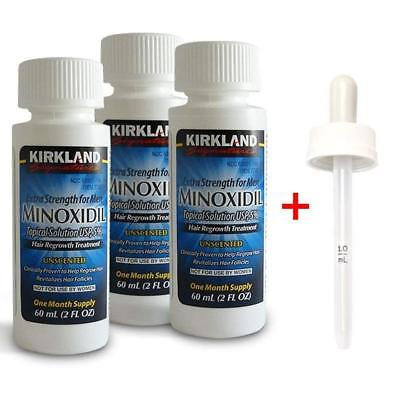 Minoxidil 5% Hair Regrowth Solution Treatment EXTRA Strength Men | 6 Month
