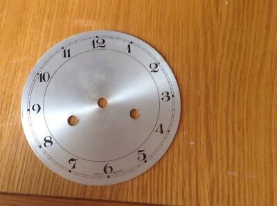 """Vintage Mantel Clock Face,   5 3/4"""" Diameter , Complete & In Good Condition (A)"""