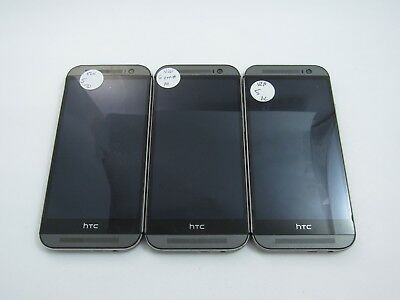 Lot of 3 Parts and Repair HTC One M8 HTC6525 Verizon PR