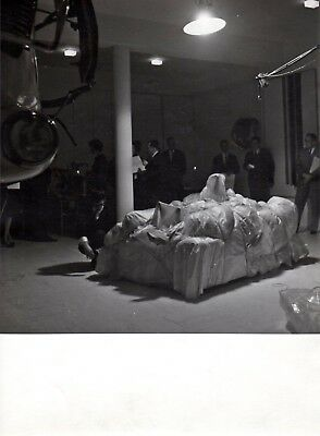 Christo / Charles Wilp - Vintage Photograph - Wrapped Mannequins - 1963 - Signed