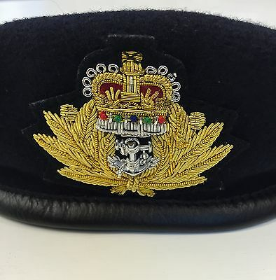 c0c40cad2e36c VINTAGE WHITE ROYAL Marines Officers Pith Helmet - £145.00