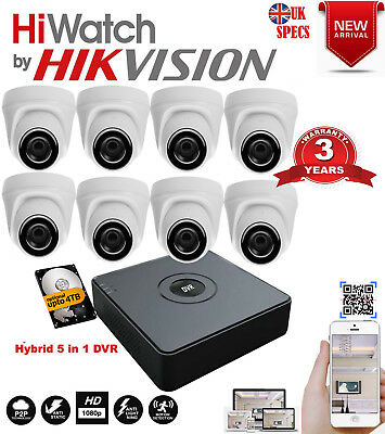 CCTV HD HIKVISION DVR 1080P 2 4MP Sony Home Security System Kit