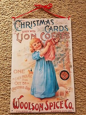 woolson spice co sign christmas cards coffee