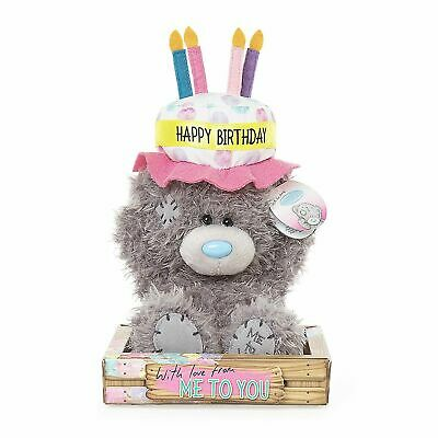 Me to You Happy Birthday Bear wearing Hat Tatty Teddy