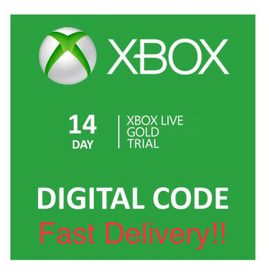 Microsoft Xbox Live 14 Day Gold Membership Code ( Delivery within Minutes)