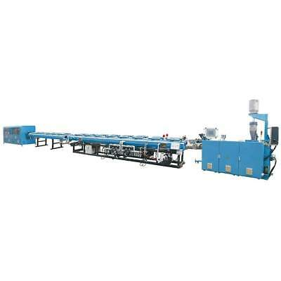 BEIER High Speed HDPE/PP/PP-R 1/2 - 2 Inch Dual Pipe Extrusion Line