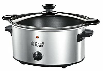Russell Hobbs 22740-56 Slow Cooker, Acciaio