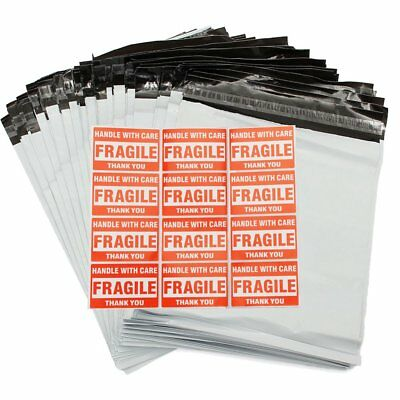 100 Poly Mailers 10x13 Shipping Mailing Bags 2.5 Mil Plastic Packaging Envelope