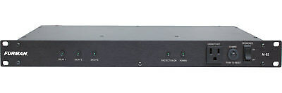 Furman M-8S 15A Standard Power Conditioner w/ Power Sequencing, 9 Outlets,