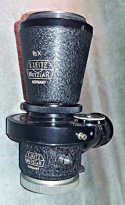 E. Leitz Wetzlar Laboratory, vtg. 1/3x Microscope , M39 Leica threads, 25mm tube