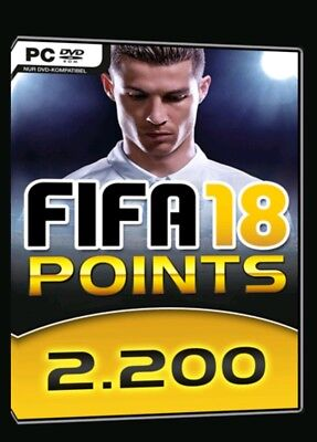 PC Origin - FIFA 18 Ultimate Team - 2200 FUT Points Key  (DE)