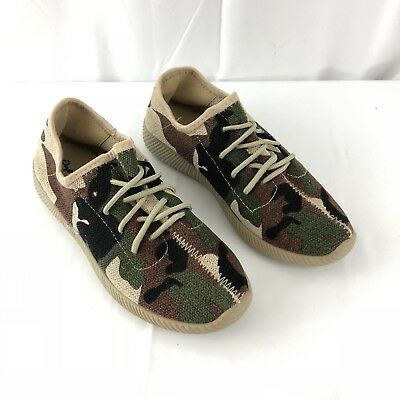 1abbe6438ec0 Qupid Nacara-01 Lace Up Slip On Camo Camouflage Army Green Shoes Womens  Size 7