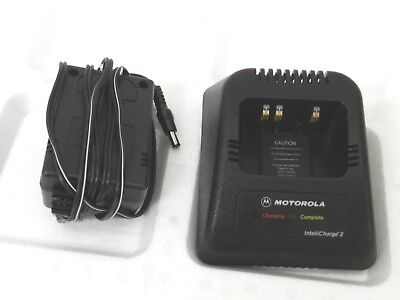 Motorola RPX4747A Battery Charging Stand for HT-1000 W/ Power Supply