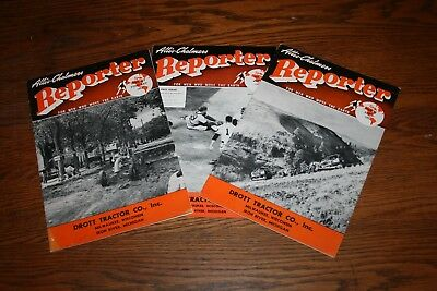 1950s Allis Chalmers Reporter Magazine For Men Who Move the Earth Lot of 3