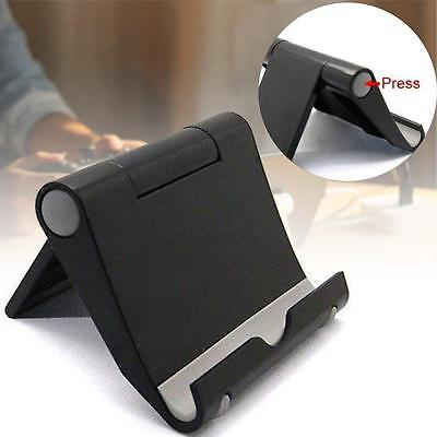 Universal Multi Angle Stand Holder For iPad Air 2 iPhone Samsung Tablet Black BR