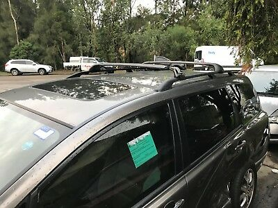 Honda Odyssey Rb1 2004 To 2008 Roof Racks X Bars Roof Rails
