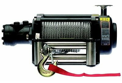 Hydraulic Winch - 12,500 or 17,000 LBS - Includes Accessories - Internal Brakes