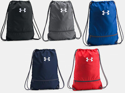 Under Armour Team Sackpack UA Drawstring Backpack Sack Pack Gym Bag All  Sport 5eba1474b9