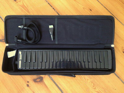 Hohner Superforce 37 Melodica - Black with Softcase