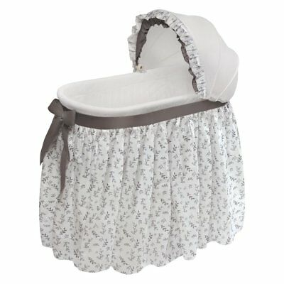 Badger Basket Wishes Oval Leaf Bassinet