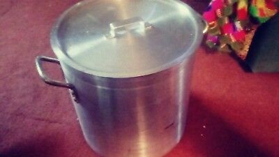 Vintage Nash 40 Qt. Aluminum Stock Pot......