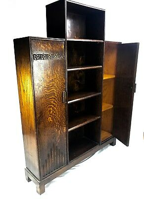 Art Deco Style wooden Cabinet / Shelf Unit / Storage Unit / Cupboard / Vintage