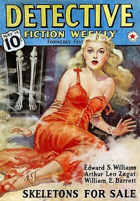 VINTAGE DETECTIVE COMIC COVERS - Restored Images Collection for Pro Printmaking!