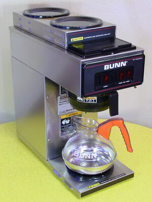 Bunn Vp17-3 Commercial 3-Warmer Pourover Coffee Maker Brewer - Excellent! Clean!