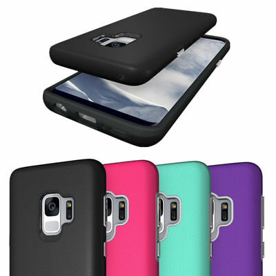For Samsung Galaxy S9 S9 Plus Rugged Hybrid Full Body Shockproof Hard Case Cover