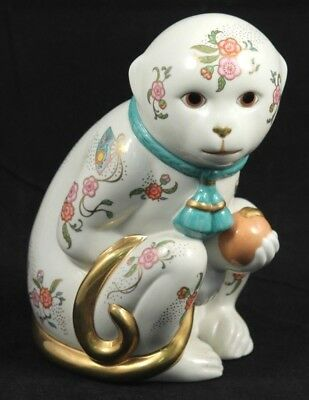 """Franklin Mint """"Imperial Monkey Of Satsuma"""" Fine Porcelain Collectible Home Decor"""