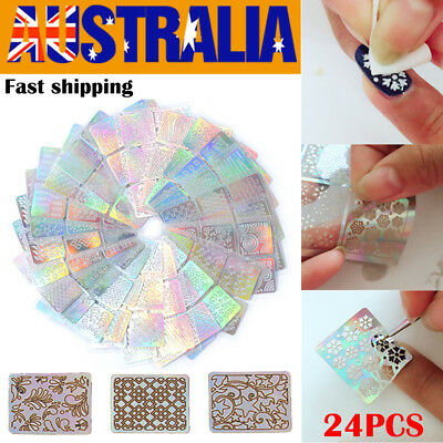 24X Nail Art Stamp Template Image Polish Stamping Plates Manicure Stencil Design