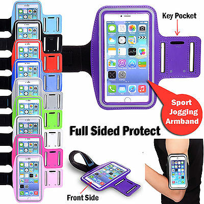 Sports Gym Running Jogging Armband Case For iPhone X/8/7/Plus Galaxy S9/S8/Plus