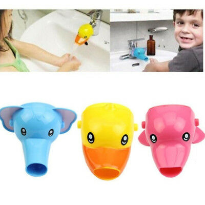 1PC Faucet Extender For Helps Children Toddler Kid Hand Washing in Bathroom Sink