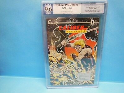 CALIBER PRESENTS #1 PGX 9.6 NM+ (not CGC) 1st Appearance of the Crow
