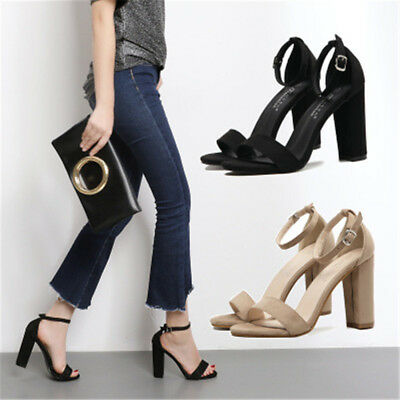 90d5019663b NEW WOMEN S FASHION Platform Chunky Block High Heel Sandals Party Dress  Shoes -  38.99