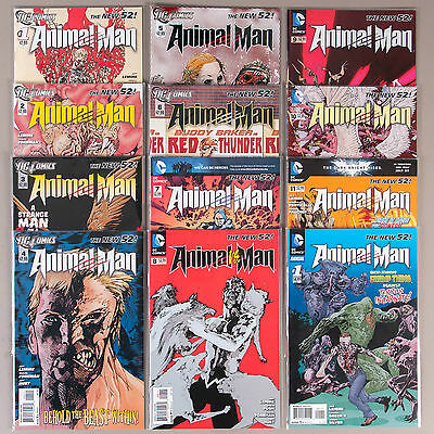 Animal Man #1-11 + Annual #1, Full Run (Vol. 2), Lot of 12 comics, comp. VF+ set
