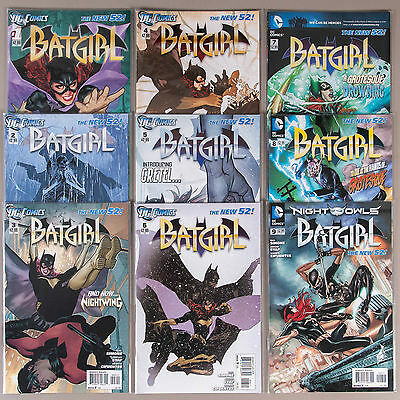 Batgirl #1-9, Full Run (Vol. 4), Lot of 9 DC comics, complete VF+ set